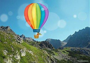 Grafika - Ušijem si balón z dúhy - 3407179