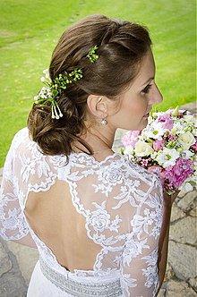 Šaty - glamour svadobné šaty pre sl.K. - 3409102