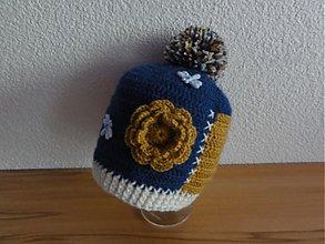 Detské čiapky - Farby teplej jesene - 3409821