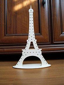 Dekorácie - Stojan na náušnice - Eiffelovka - 3411478