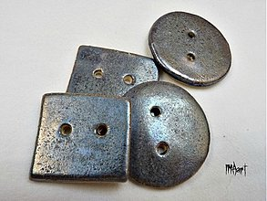 Materiál ručne robený - Gombík - 3411628