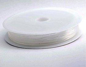 Galantéria - NAV3911, PRUŽENKA 0.5mm Transparent /1rol - 3413234