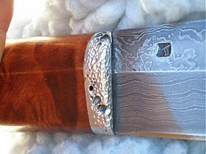 Nože - Fínske damaškové nože 4 - 341574