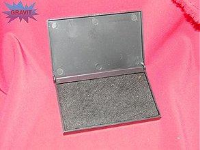 Farby-laky - Poduška pre razitka pečiatky  čierna - 3416743