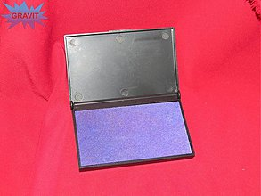Farby-laky - Poduška pre razitka pečiatky fialova - 3416754