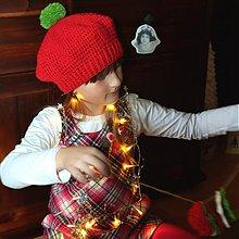 Detské čiapky - Baretka vianočná :-) - 3418498