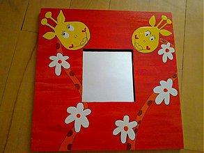 Zrkadlá - ZRKADLO-žirafka - 342539
