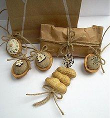 Dekorácie - Bio visačky na darčeky - 3428783