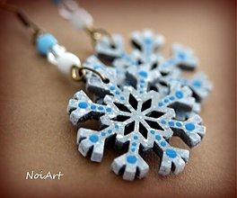 Náušnice - Zamrznutá krása - 3432703