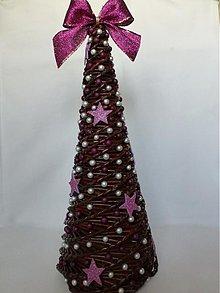 Dekorácie - Vianočný paper stromček - 3434560