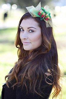 Ozdoby do vlasov - Vianočná - 3435431