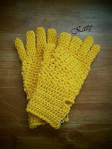 Rukavice - ..fajčiarské rukavice... - 3437364