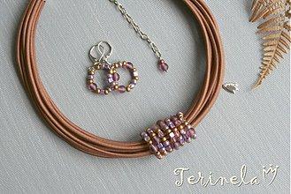 Sady šperkov - Náhrdelník + náušnice © Oříškově voní ... - 3444165