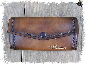 Peňaženky - Kožená dámska peňaženka - 3444460