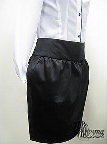 Sukne - Saténová balónová sukňa - 3445507