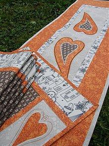 Úžitkový textil - Vianočné prestieranie No.17 :) - 3447469