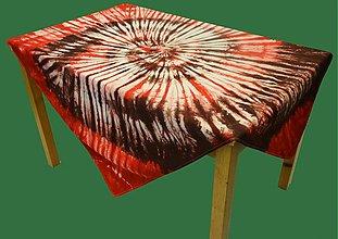 Úžitkový textil - Obrus batika Špirála - 3452096