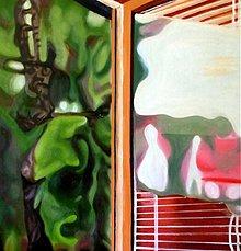 Obrazy - Smrek červený-v okne - 345505
