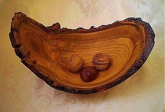Nádoby - Miska z koreňa čerešne - 3460998