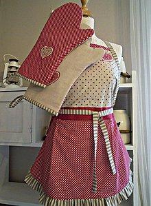 Iné oblečenie - Zásterka , kuchynské doplnky - 3464203