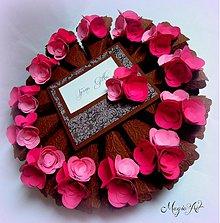 Papiernictvo - Horúce maliny na čokoládke... - 3464374