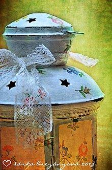 Svietidlá a sviečky - LAMPÁŠE A SVIETNIKY (romantický) - 3466481