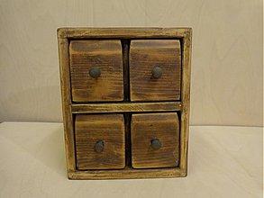 Krabičky - Komoda, krabička - 3469334