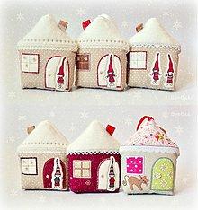 Dekorácie - Domčeky vianočné - 3472283