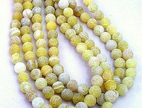 Minerály - Hadí achát, 10 mm, 1 ks - 3477756