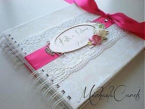 Papiernictvo - Svadobná kniha hostí - 3478938