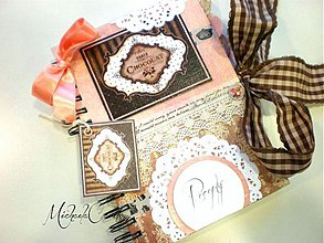 Papiernictvo - Čokoládový receptárik - 3479529