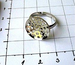 Komponenty - Základ na prsteň nastaviteľný - 3480384