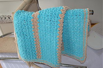 Úžitkový textil - ...jedna  mäkučká, hebučká, pre mimi čo ešte len príde... - 3480906