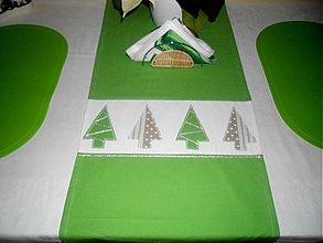 Úžitkový textil - vianočná štóla - 3481197