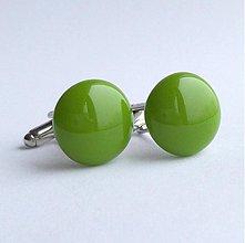 Šperky - manžetové gombíky - pea pod -50% - 3481454