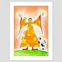 Obrazy - Ježibabka maľovaný obraz pre deti - 3485213