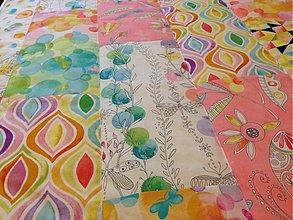 Úžitkový textil - *** a k c i a *** Mozaiková deka - 3487216