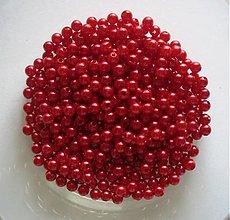 Korálky - perličky 4mm/ 100ks - 3490770