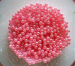 Korálky - perličky 4mm/ 100ks - 3490780