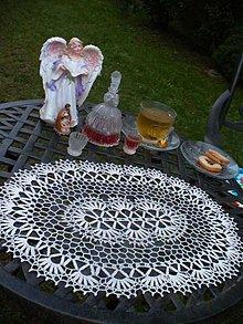 Úžitkový textil - Háčkované prestieranie - Kamila - 3492207