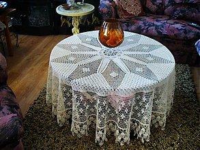 Úžitkový textil - Háčkované prestieranie - Fatima - 3496824