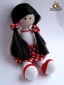 Návody a literatúra - návod na háčkovanú bábiku (cca 31,5cm) - 3499491