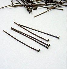 Komponenty - Nity staromeď,40 mm, 100 ks - 3499805