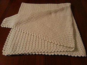 a1825bce11d Textil - Háčkovaná deka pre bábätko - 3502236