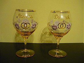 Nádoby - Svadobné poháre - 3503291