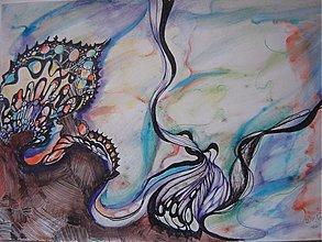 Drobnosti - Akvarel ~ Z OBLAKOV - 350409