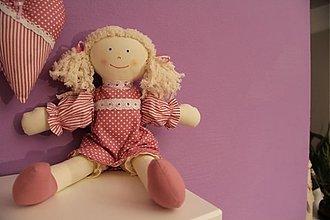 Hračky - bábika - textilná - 3507585