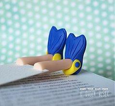 Papiernictvo - Záložka kniho-nôžka - 3509181