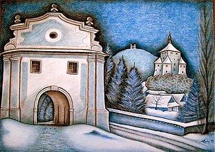 Obrazy - Piargska brána - 3510852
