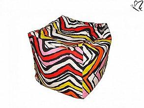 Úžitkový textil - _HOPA a pestrofarebné cik-cak - 3512976